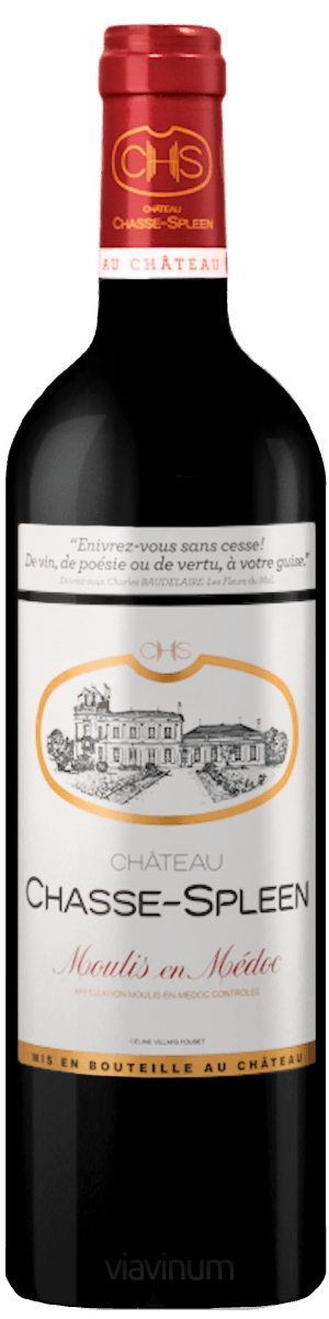 Château Chasse-Spleen 2018 Château Chasse Spleen  Expédition sous 24/48h