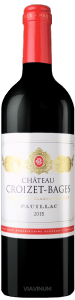 Complementary view of the bottle of Château Croizet-Bages 2016. To buy this wine or to see the file, click on the image