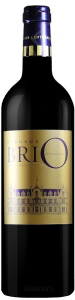 Complementary view of the bottle of Brio de Cantenac Brown 2016. To buy this wine or to see the file, click on the image