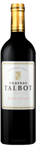Complementary view of the bottle of Château Talbot 2016. To buy this wine or to see the file, click on the image