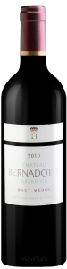Complementary view of the bottle of Château Bernadotte 2010. To buy this wine or to see the file, click on the image