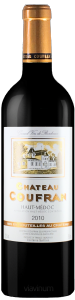 Complementary view of the bottle of Château Coufran 2010. To buy this wine or to see the file, click on the image