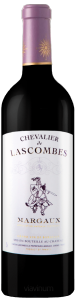 Complementary view of the bottle of Chevalier de Lascombes 2016. To buy this wine or to see the file, click on the image