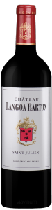 Complementary view of the bottle of Château Langoa Barton 2016. To buy this wine or to see the file, click on the image