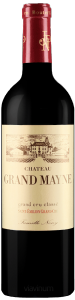 Complementary view of the bottle of Château Grand Mayne 2015. To buy this wine or to see the file, click on the image