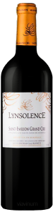 Complementary view of the bottle of Lynsolence 2015. To buy this wine or to see the file, click on the image