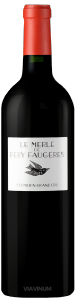 Complementary view of the bottle of Le Merle de Peby Faugères 2015. To buy this wine or to see the file, click on the image
