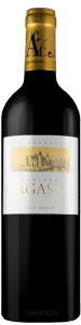 Complementary view of the bottle of Château D'Agassac 2016. To buy this wine or to see the file, click on the image