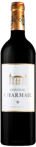 Complementary view of the bottle of Château Charmail 2016. To buy this wine or to see the file, click on the image