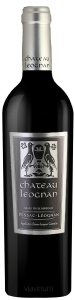 Complementary view of the bottle of Château Léognan 2015. To buy this wine or to see the file, click on the image