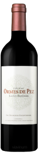 Complementary view of the bottle of Château Ormes de Pez 2016. To buy this wine or to see the file, click on the image