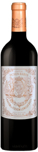 Complementary view of the bottle of Château Pichon Baron 2016. To buy this wine or to see the file, click on the image