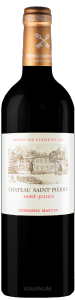 Complementary view of the bottle of Château Saint-Pierre 2017. To buy this wine or to see the file, click on the image