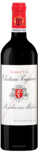 Complementary view of the bottle of Château Poujeaux 2016. To buy this wine or to see the file, click on the image