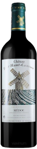 Complementary view of the bottle of Château Tour Haut Caussan 2016. To buy this wine or to see the file, click on the image