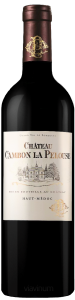 Complementary view of the bottle of Château Cambon La Pelouse 2016. To buy this wine or to see the file, click on the image