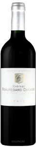 Complementary view of the bottle of Château Beauregard-Ducasse Albert-Duran 2016. To buy this wine or to see the file, click on the image