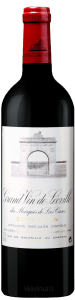 Complementary view of the bottle of Château Léoville Las Cases 2017. To buy this wine or to see the file, click on the image