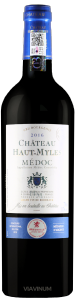 Complementary view of the bottle of Château Haut-Myles 2016. To buy this wine or to see the file, click on the image