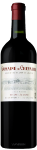 Complementary view of the bottle of Domaine de Chevalier 2016. To buy this wine or to see the file, click on the image