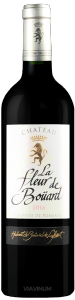 Complementary view of the bottle of Château La Fleur de Boüard 2016. To buy this wine or to see the file, click on the image