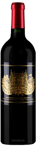 Complementary view of the bottle of Château Palmer 2016. To buy this wine or to see the file, click on the image