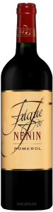 Complementary view of the bottle of Fugue de Nénin 2016. To buy this wine or to see the file, click on the image