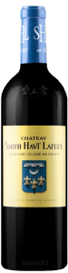 Complementary view of the bottle of Château Smith Haut Lafitte Rouge 2016. To buy this wine or to see the file, click on the image