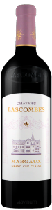 Complementary view of the bottle of Château Lascombes 2016. To buy this wine or to see the file, click on the image