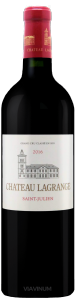 Complementary view of the bottle of Château Lagrange 2016. To buy this wine or to see the file, click on the image