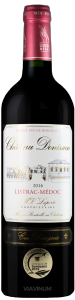 Complementary view of the bottle of Château Donissan 2016. To buy this wine or to see the file, click on the image