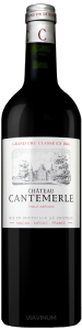 Complementary view of the bottle of Château Cantemerle 2016. To buy this wine or to see the file, click on the image