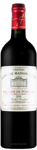 Complementary view of the bottle of Château La Faurie Maison Neuve 2016. To buy this wine or to see the file, click on the image
