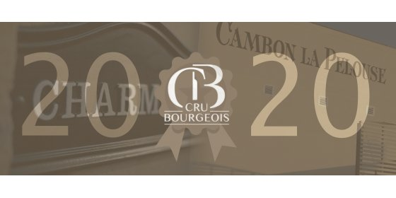 The 2020 classification of Médoc Crus-Bourgeois