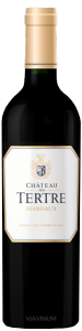 Complementary view of the bottle of Château Du Tertre 2016. To buy this wine or to see the file, click on the image