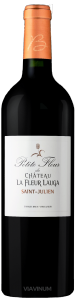 Complementary view of the bottle of Petite Fleur de Château La Fleur Lauga 2016. To buy this wine or to see the file, click on the image