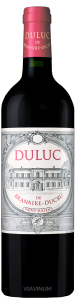Complementary view of the bottle of Duluc de Branaire Ducru 2015. To buy this wine or to see the file, click on the image